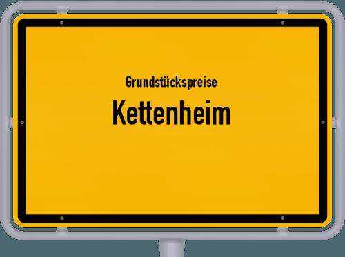 Grundstückspreise Kettenheim 2019