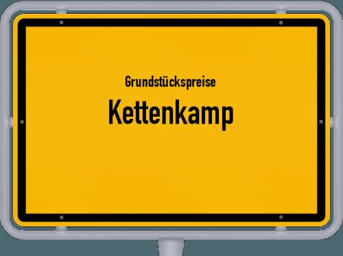 Grundstückspreise Kettenkamp 2019