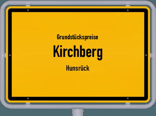 Grundstückspreise Kirchberg (Hunsrück) 2019