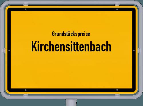 Grundstückspreise Kirchensittenbach 2019