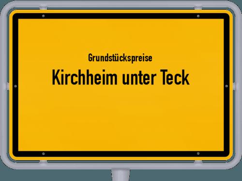 Grundstückspreise Kirchheim unter Teck 2021