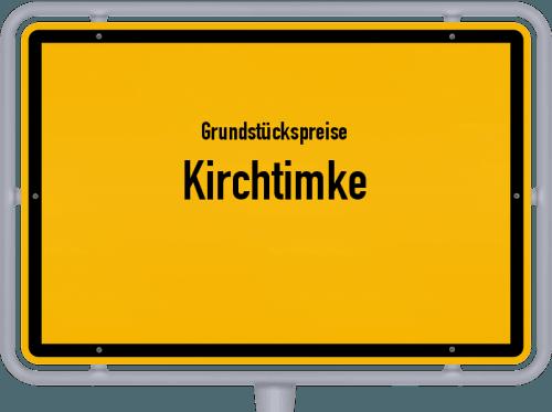 Grundstückspreise Kirchtimke 2021