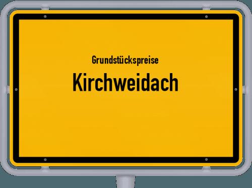 Grundstückspreise Kirchweidach 2019