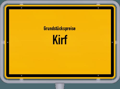 Grundstückspreise Kirf 2019