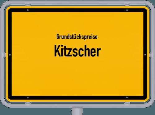 Grundstückspreise Kitzscher 2019