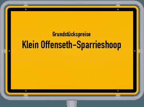 Grundstückspreise Klein Offenseth-Sparrieshoop 2021