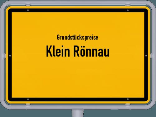 Grundstückspreise Klein Rönnau 2021