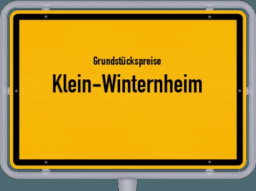 Grundstückspreise Klein-Winternheim 2019