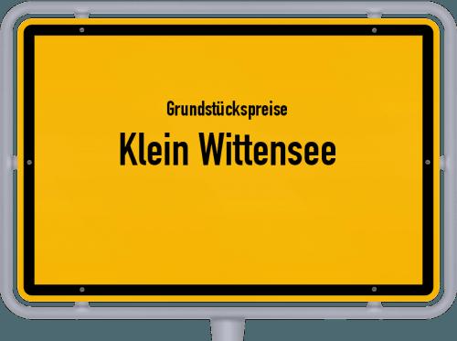 Grundstückspreise Klein Wittensee 2021