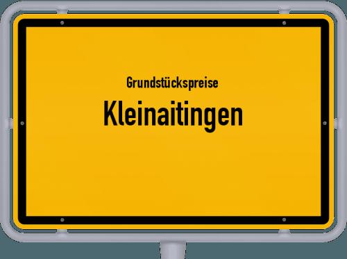 Grundstückspreise Kleinaitingen 2019