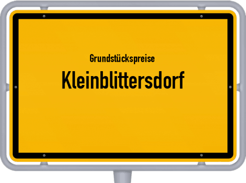 Grundstückspreise Kleinblittersdorf 2020