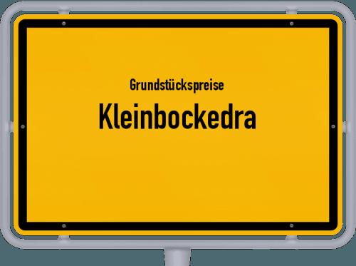 Grundstückspreise Kleinbockedra 2019