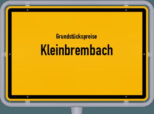 Grundstückspreise Kleinbrembach 2019