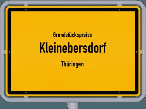 Grundstückspreise Kleinebersdorf (Thüringen) 2019