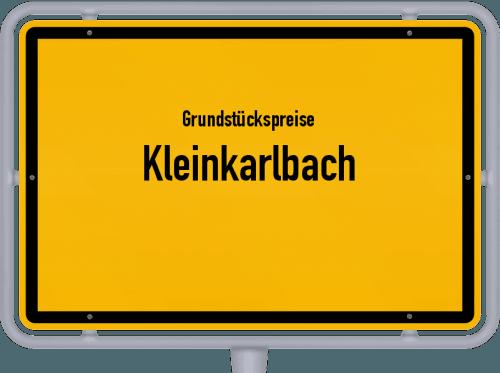 Grundstückspreise Kleinkarlbach 2019