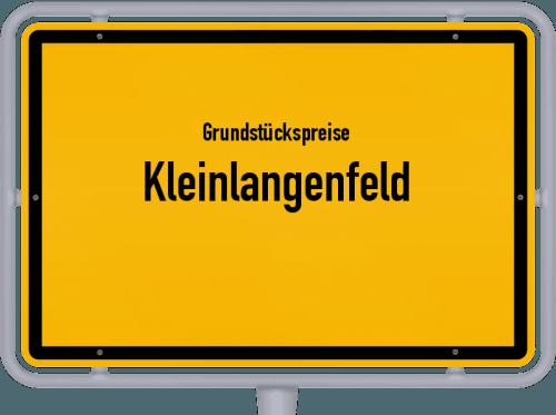 Grundstückspreise Kleinlangenfeld 2019