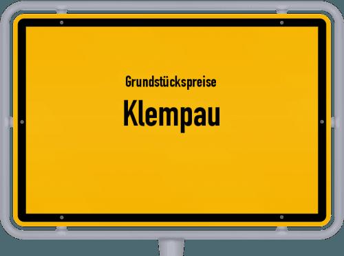 Grundstückspreise Klempau 2021
