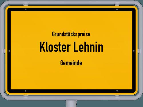 Grundstückspreise Kloster Lehnin (Gemeinde) 2021