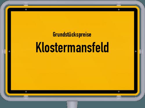 Grundstückspreise Klostermansfeld 2021