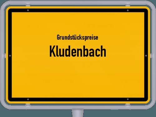 Grundstückspreise Kludenbach 2019