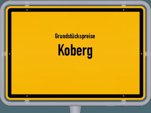 Grundstückspreise Koberg 2021