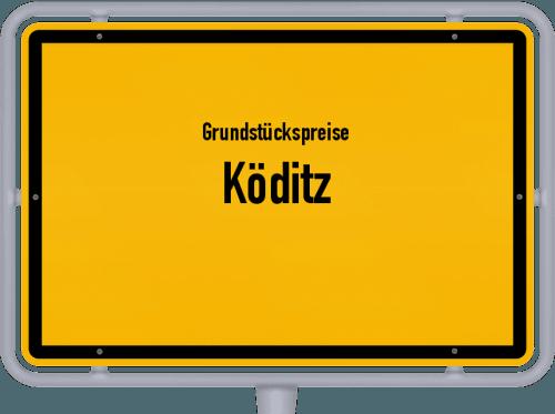 Grundstückspreise Köditz 2021