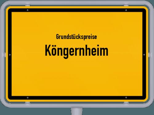 Grundstückspreise Köngernheim 2019
