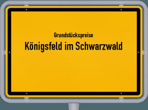 Grundstückspreise Königsfeld im Schwarzwald 2021