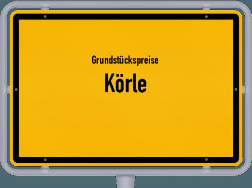 Grundstückspreise Körle 2018