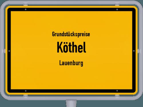 Grundstückspreise Köthel (Lauenburg) 2021