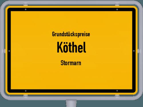 Grundstückspreise Köthel (Stormarn) 2021