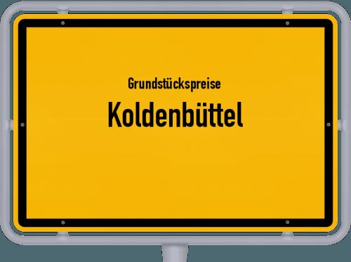 Grundstückspreise Koldenbüttel 2021