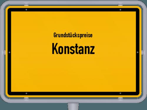Grundstückspreise Konstanz 2021