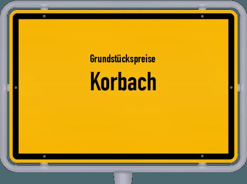Grundstückspreise Korbach 2019