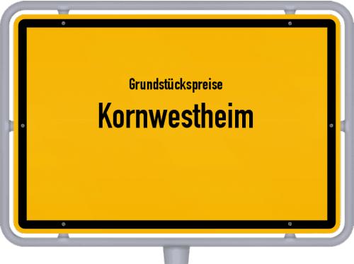 Grundstückspreise Kornwestheim 2020