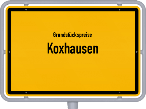Grundstückspreise Koxhausen 2019