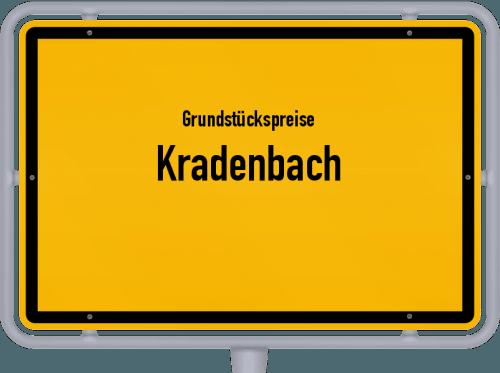 Grundstückspreise Kradenbach 2019