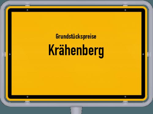 Grundstückspreise Krähenberg 2019