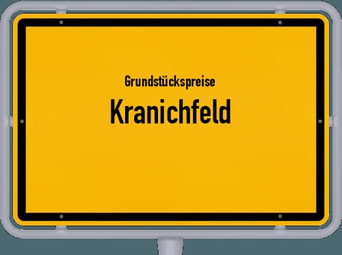 Grundstückspreise Kranichfeld 2019