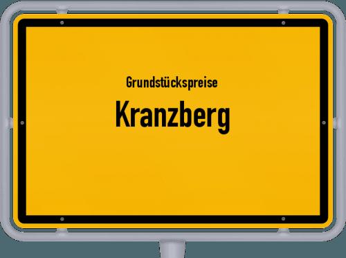 Grundstückspreise Kranzberg 2019
