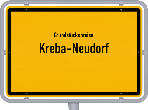 Grundstückspreise Kreba-Neudorf 2019
