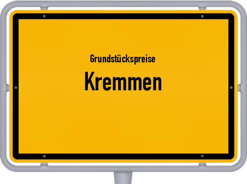 Grundstückspreise Kremmen 2021