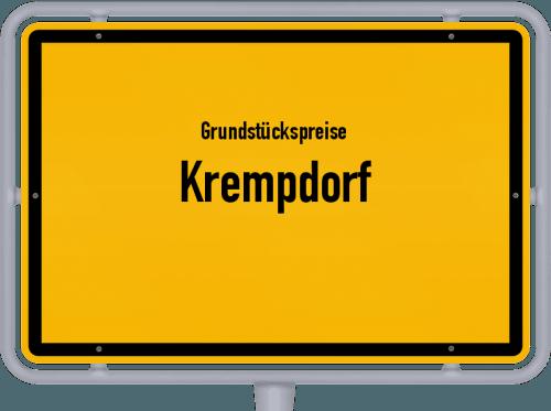 Grundstückspreise Krempdorf 2021