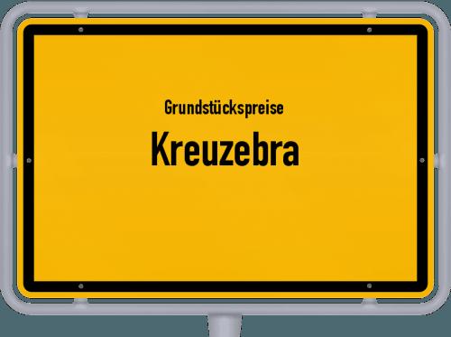 Grundstückspreise Kreuzebra 2019
