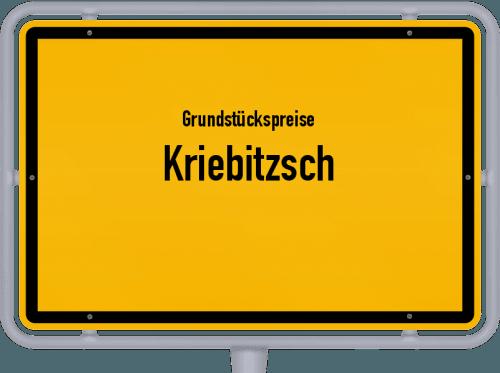 Grundstückspreise Kriebitzsch 2019