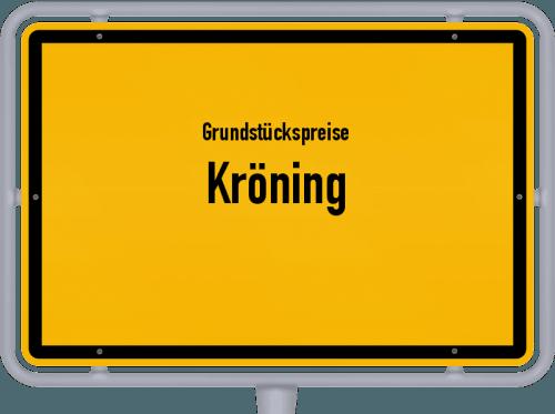 Grundstückspreise Kröning 2019