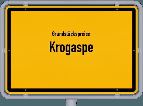 Grundstückspreise Krogaspe 2021