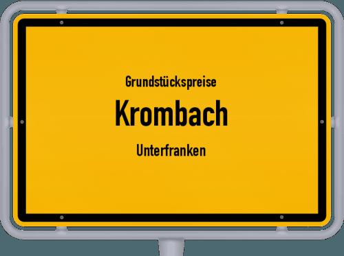 Grundstückspreise Krombach (Unterfranken) 2019