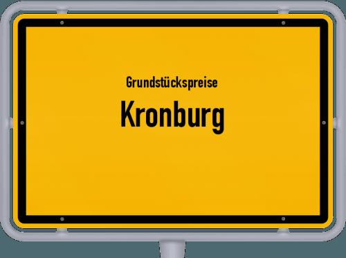 Grundstückspreise Kronburg 2019