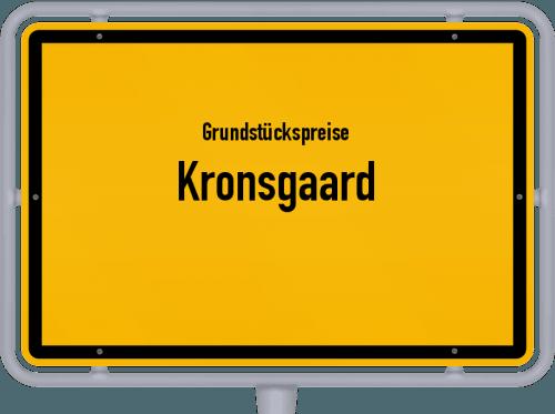 Grundstückspreise Kronsgaard 2021